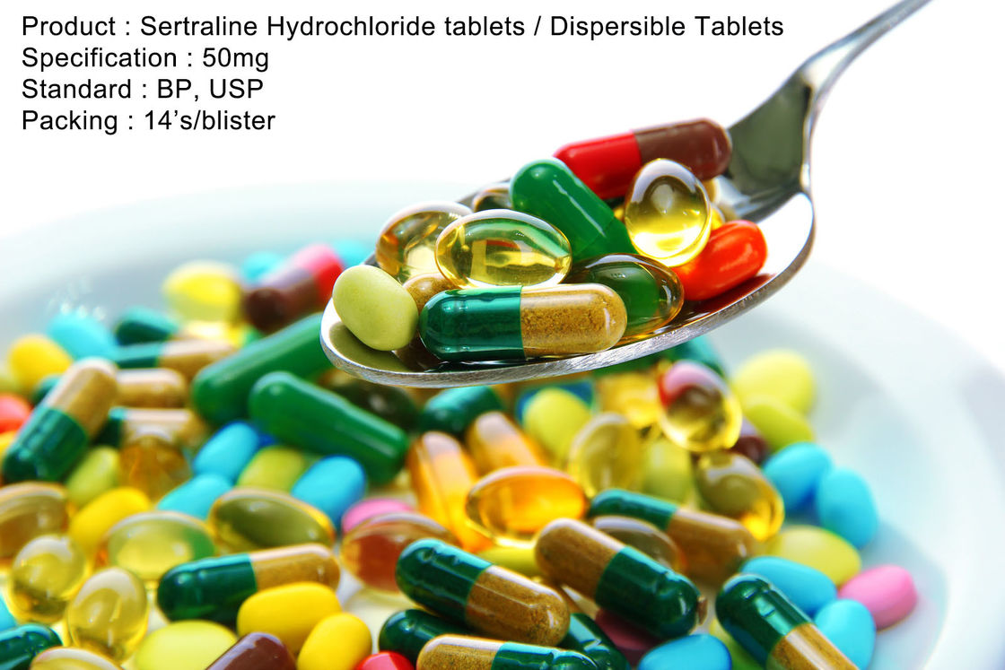 Sertraline Hydrochloride Tablets / Oral Dispersible Tablets 50mg