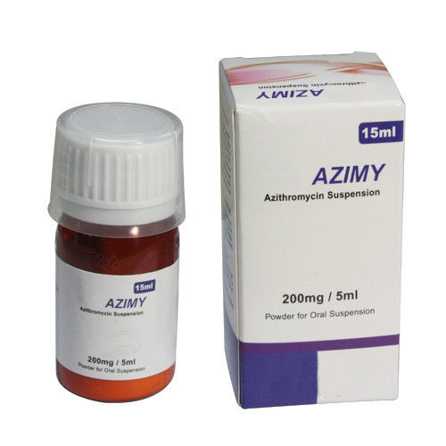 Azithromycin oral Suspension 200mg/5ml, 60ml Bottle, 100ml Bottle Oral Medications Dry Syrup