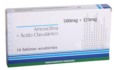 Amoxicillin and Clavulanate Potassium Tablets 250mg+125mg, 500mg+125mg, 875mg+125mg Oral Medications Antibiotics