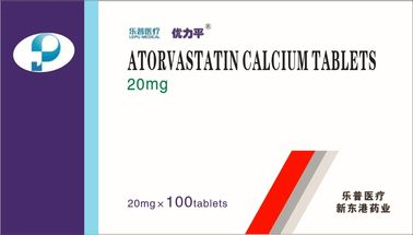 Thuốc uống Hypolipidemia / Atorvastatin Canxi 10mg 20mg 10x3 10x10